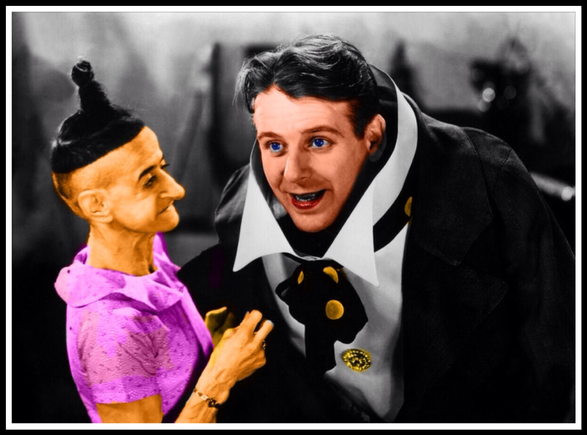 COLORIZED PHROSO AND STORK WOMAN