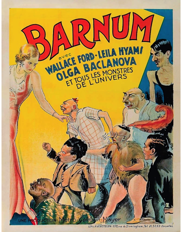 FREAKS - FRENCH POSTER BARNUM
