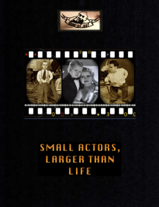 Small Actors